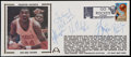 Basketball Collectibles:Others, 1994 Houston Rockets Multi-Signed First Day Cover....