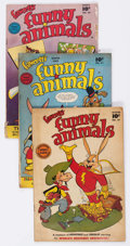 Golden Age (1938-1955):Funny Animal, Funny Animals Golden Group of 7 (Fawcett Publications, 1947-50)Condition: GD/VG.... (Total: 7 Comic Books)