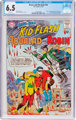 The Brave and the Bold #54 Kid Flash, Aqualad, and Robin (DC, 1964) CGC FN+ 6.5 White pages