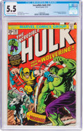 Bronze Age (1970-1979):Superhero, The Incredible Hulk #181 (Marvel, 1974) CGC FN- 5.5 Off-white towhite pages....