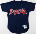 Baseball Collectibles:Uniforms, 1997 Andruw Jones Atlanta Braves Game Worn Jersey....