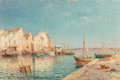 Paintings, Charles Malfroy (French, 1862-1951). Vue de Martigues. Oil on canvas. 24 x 36-1/4 inches (61.0 x 92.1 cm). Signed lower ...