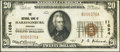 National Bank Notes:Virginia, Harrisonburg, VA - $20 1929 Ty. 1 The NB of Harrisonburg Ch. #11694. ...