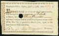 Colonial Notes:Massachusetts, Boston, (MA) Treasury Certificate £3 Apr. 1, 1786 Very Fine, HOC.....