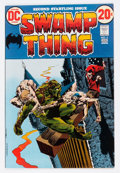 Bronze Age (1970-1979):Horror, Swamp Thing #2 (DC, 1973) Condition: VF/NM....