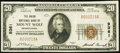 National Bank Notes:Pennsylvania, Mount Wolf, PA - $20 1929 Ty. 1 The Union NB Ch. # 9361. ...