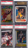 Basketball Cards:Lots, 1980's - 1990's Bryant, Jordan & O'Neal High Grade Collection(10) With Rookies. ...
