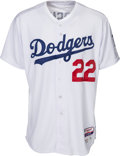 Baseball Collectibles:Uniforms, 2015 Clayton Kershaw Game Worn Los Angeles Dodgers Jersey. ...