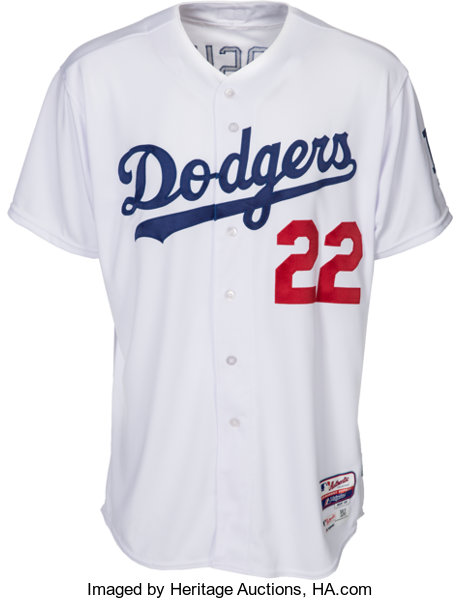 e4a84255d 2015 Clayton Kershaw Game Worn Los Angeles Dodgers Jersey. ...