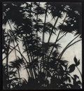 Fine Art - Work on Paper:Drawing, Susan Davidoff (b. 1953). Middleham Falls Track-Bamboo,1993. Charcoal on paper. 52-1/2 x 48 inches (133.4 x 121.9 cm). ...