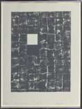Prints & Multiples, Gloria Kisch (1941-2014). The Right Place St1, 1977. Lithograph in colors on paper. 26-1/4 x 20-1/2 inches (66.7 x 52.1 ...