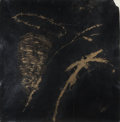 Fine Art - Painting, American:Contemporary   (1950 to present)  , Virgil Grotfeldt (1948-2009). Santo de Noche, 1989. Acrylicand metallic powder on paper. 52-1/2 x 51 inches (133.4 x 12...