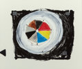 Fine Art - Painting, American:Contemporary   (1950 to present)  , Lee Newton (20th Century). Untitled, 1978. Mixed media onpaper. 19-1/2 x 23-1/2 inches (49.5 x 59.7 cm) (image). Initia...