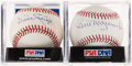 Autographs:Baseballs, Pirates Hall of Famers Single Signed Baseball Pair (2) - Stargell& Mazeroski. ...