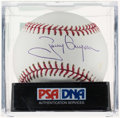 Autographs:Baseballs, Tony Gwynn Single Signed Baseball, PSA Mint +9.5....