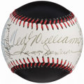 Autographs:Baseballs, 500 Home Run Club Multi-Signed Baseball (12 Signatures) - IncludesMantle & Williams. ...