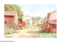 Texas:Early Texas Art - Impressionists, ANNA LEE STACEY (American 1865-1943). Village Path. Oil on canvas. 12in.x 18in.. Signed lower left. Provenance: Marshall...