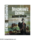 Illustration:Books, ENGLISH ILLUSTRATOR (20th Century) . Madman's Bend, 1963 .Mixed-media on board . 20in. x 17in. . Not signed . Heineman,...
