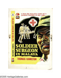 Illustration:Books, ENGLISH ILLUSTRATOR (20th Century) . Soldier Surgeon inMalaya, 1957 . Gouache on illustration board . 19.5in. x 14in.