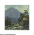 Illustration:Books, MAXFIELD PARRISH (American 1870-1966) . The Rocks and Rills.Vintage print. 11in. x 9in.. ...