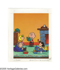 CHARLES SCHULZ (American 1922-2000) with ART and KIM ELLIS (20th Century) Charlie Brown's Two-Minute Stories, 1988 A