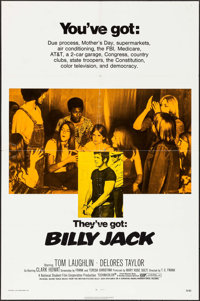 """Billy Jack (Warner Brothers, 1971). One Sheet (27"""" X 41""""). Action"""
