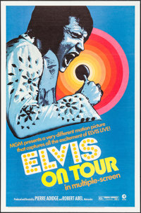 "Elvis on Tour (MGM, 1972). One Sheet (27"" X 41""). Elvis Presley"