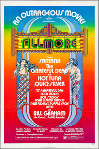 """Fillmore & Other Lot (20th Century Fox, 1972). One Sheets (2) (27"""" X 41""""). Rock and Roll. ... (Total:..."""
