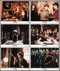 "Harry Potter and the Chamber of Secrets (Warner Brothers, 2002). International Lobby Cards (11) (11"" X 14""). F..."