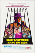 """Movie Posters:Western, Hang 'Em High (United Artists, 1968). One Sheet (27"""" X 41"""").Western.. ..."""