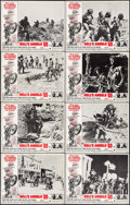 """Movie Posters:Exploitation, Hell's Angels '69 (American International, 1969). Lobby Card Set of8 (11"""" X 14""""). Exploitation.. ... (Total: 8 Items)"""
