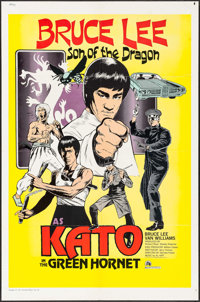 """The Green Hornet (20th Century Fox, 1974). One Sheet (27"""" X 41"""") Kato Style. Action"""
