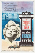 """Movie Posters:Romance, In the French Style & Other Lot (Columbia, 1963). One Sheets (2) (27"""" X 41""""). Romance.. ... (Total: 2 Items)"""