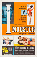 "Movie Posters:Crime, I Mobster (20th Century Fox, 1958). One Sheet (27"" X 41""). Crime....."