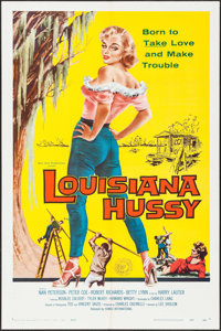 "Louisiana Hussy (Howco, 1959). One Sheet (27"" X 41""). Bad Girl"