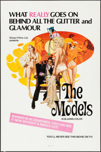 "The Models & Other Lot (Group 1, 1973). One Sheets (2) (27"" X 41""). Adult. Alternate Title: In Love wi..."