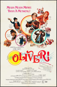 """Oliver! (Columbia, 1968). One Sheet (27"""" X 41""""). Pre-Academy Award Style. Musical"""