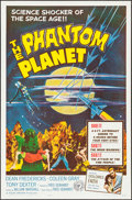 "Movie Posters:Science Fiction, The Phantom Planet (Four Crown, 1962). One Sheet (27"" X 41"").Science Fiction.. ..."