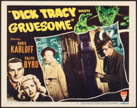 "Dick Tracy Meets Gruesome (RKO, 1947). Lobby Card (11"" X 14""). Crime"