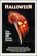 """Movie Posters:Horror, Halloween (Compass International, 1978). One Sheet (27"""" X 41"""").Blue Ratings Box Style. Horror.. ..."""