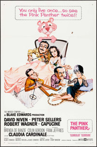 "The Pink Panther (United Artists, 1964). One Sheet (27"" X 41""). Comedy"