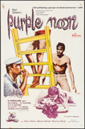 "Movie Posters:Foreign, Purple Noon (Times, 1961). Folded, Fine+. One Sheet (27"" X 41"").Foreign.. ..."