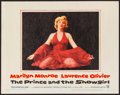 """Movie Posters:Romance, The Prince and the Showgirl (Warner Brothers, 1957). Lobby Card(11"""" X 14""""). Romance.. ..."""