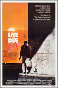 """Movie Posters:Action, To Live and Die in L.A. (MGM/UA, 1985). One Sheet (27"""" X 41"""") &British Lobby Card Set of 8 (11"""" X 14""""). Action.. ... (Total: 9Items)"""
