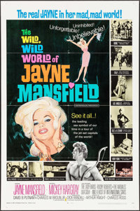"""The Wild, Wild World of Jayne Mansfield (Southeastern Pictures Corporation, 1968). One Sheet (27"""" X 41""""). Sexp..."""