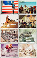 """Movie Posters:War, Patton (20th Century Fox, 1970). Lobby Card Set of 8 (11"""" X 14"""").War.. ... (Total: 8 Items)"""