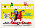 """Movie Posters:Animation, Song of the South (Buena Vista, R-1972). Half Sheet (22"""" X 28"""").Animation.. ..."""
