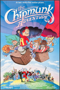 "The Chipmunk Adventure & Other Lot (Samuel Goldwyn, 1987). One Sheets (2) (27"" X 41""). Animation..."