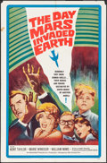 """Movie Posters:Science Fiction, The Day Mars Invaded Earth (20th Century Fox, 1963). Folded,Fine/Very Fine. One Sheet (27"""" X 41""""). Science Fiction."""