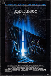 """Explorers & Other Lot (Paramount, 1985). One Sheets (2) (27"""" X 40"""" & 27"""" X 41""""). Adv..."""